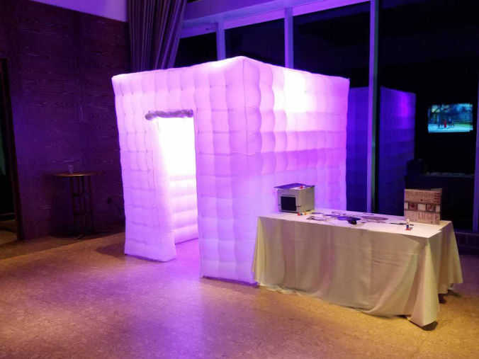 LED Glow Booth by Philly Photo Booths