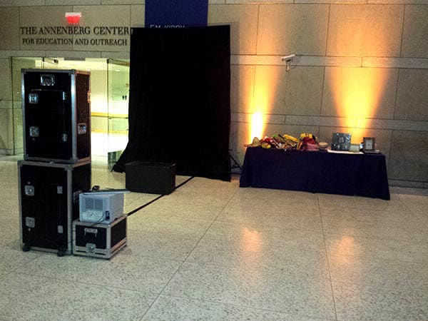 Open Air Booth by Philly Photo Booths